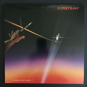 "Supertramp: ""... famous last words ..."" LP"
