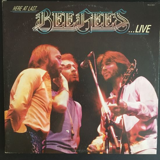 Bee Gees: Here At Last ... Bee Gees ... Live LP