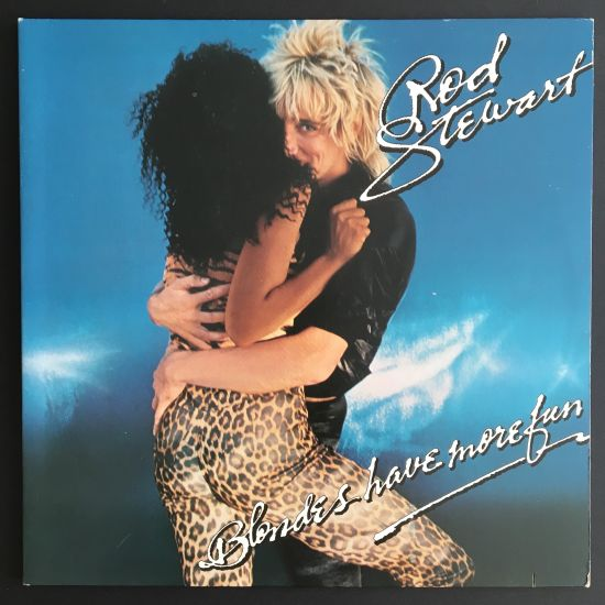Rod Stewart: Blondes Have More Fun LP