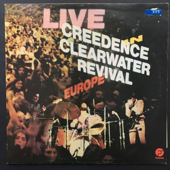 Creedence Clearwater Revival: Live in Europe LP