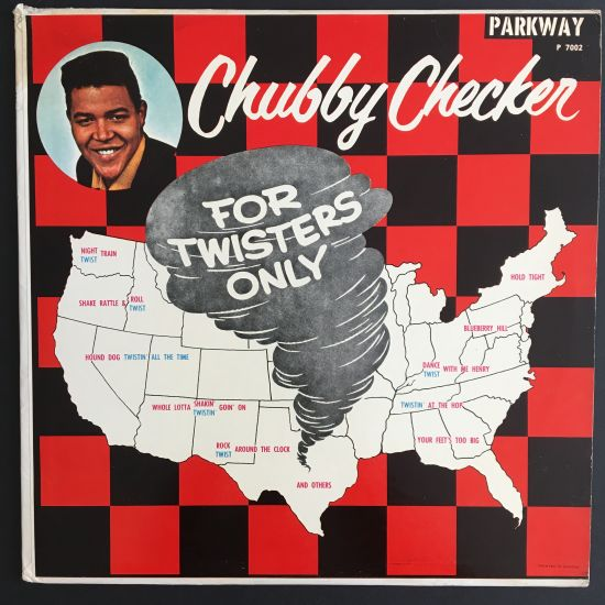 Chubby Checker: For Twisters Only LP