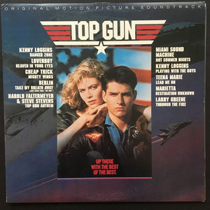 Various Artists: Top Gun Original Motion Picture Soundtrack LP