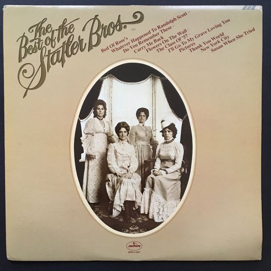 The Statler Brothers: The Best of the Statler Brothers LP