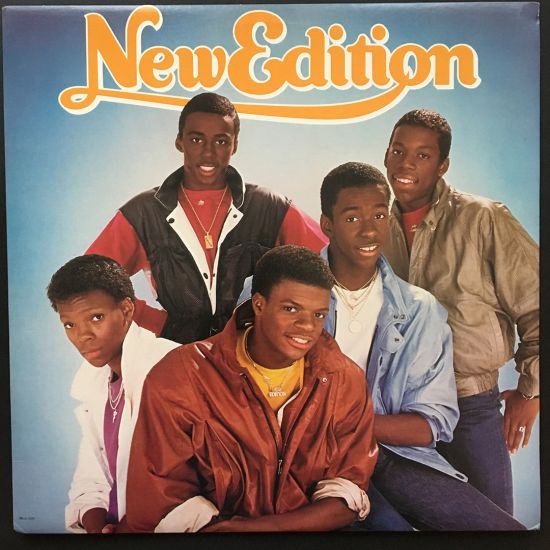 New Edition: New Edition LP