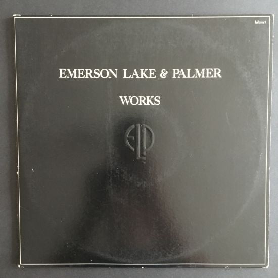 Emerson Lake & Palmer: Works, Volume 1 LP