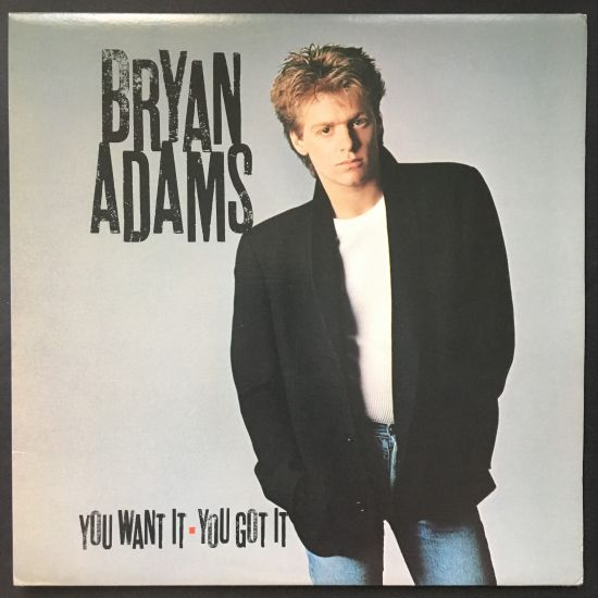 Bryan Adams: You Want It You Got It LP
