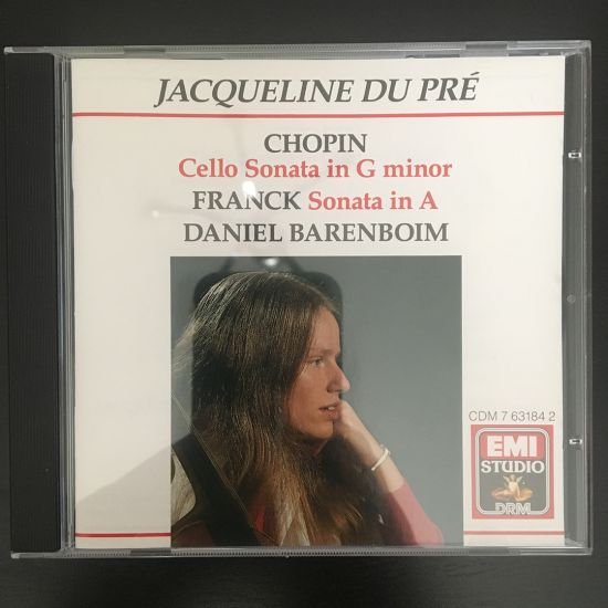 Frédéric Chopin and César Franck: Cello sonato in G minor, Sonata in A CD