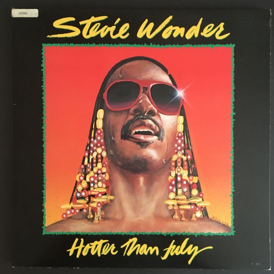 Stevie Wonder: Hotter Than July LP