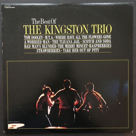 The Kingston Trio: The Best Of The Kingston Trio LP