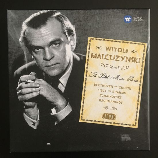 Witold Malcuzynski: The Polish Master Pianist 8 x CD Box Set