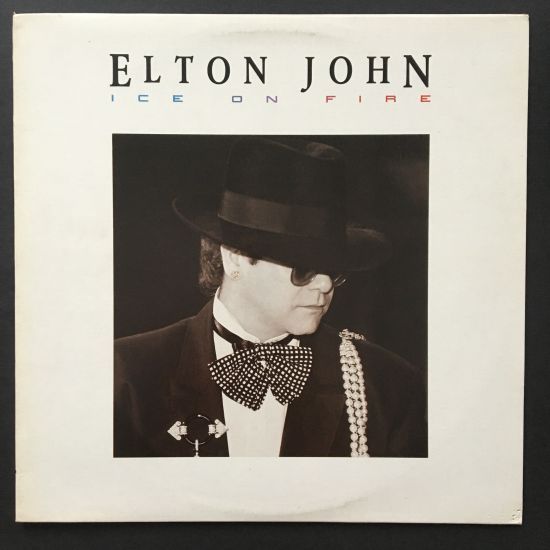 Elton John: Ice On Fire LP
