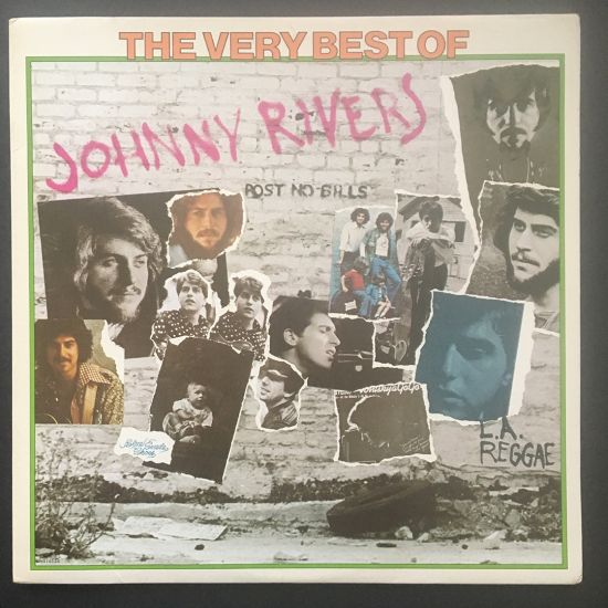 Johnny Rivers: The Very Best of Johnny Rivers LP