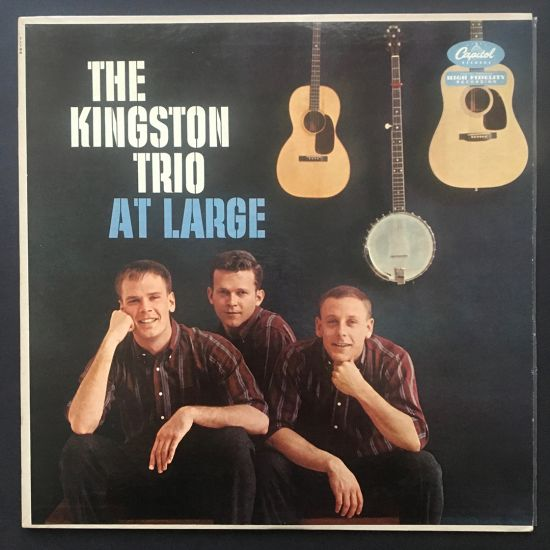 Kingston Trio: At Large LP
