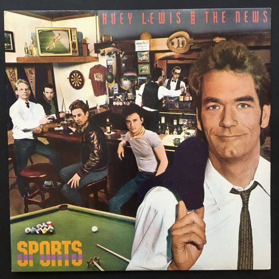 Huey Lewis and the News: Sports LP