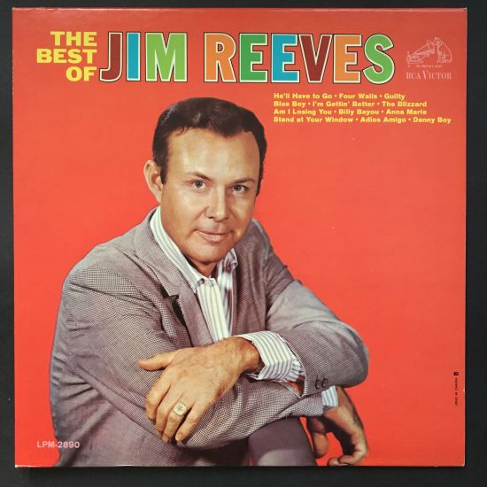 Jim Reeves: The Best of Jim Reeves LP