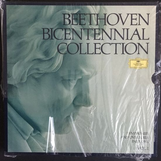 Ludwig van Beethoven: Beethoven Bicentennial Collection: Symphonies and Overtures Part One (Vol. I) LP Box set