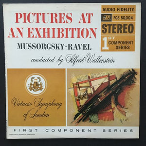 Modest Mussorgsky: Pictures At An Exhibition LP