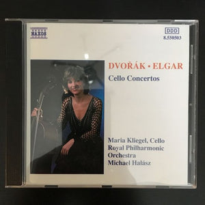 Antonin Dvořák and Sir Edward William Elgar: Cello Concertos CD