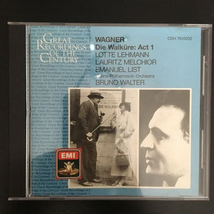 Richard Wagner: Die Walküre: Act 1 CD
