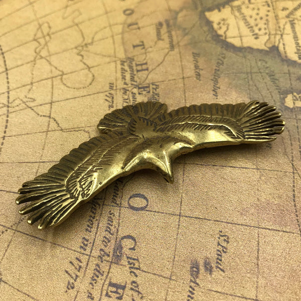 Eagle Medal Decoration Patches Sewing Badges - Metal Field
