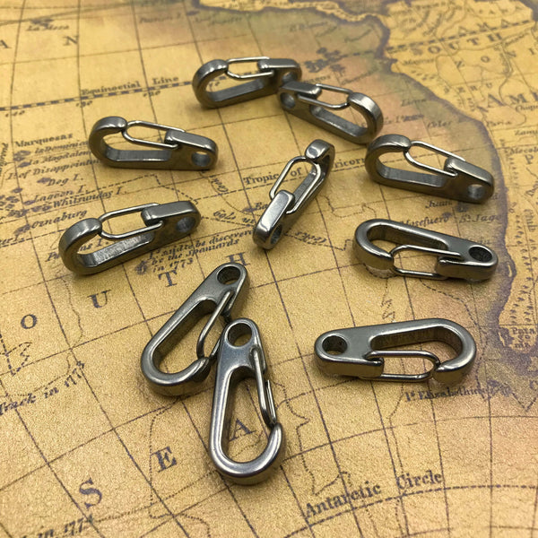 Stainless Steel Snap Clasp EDC Carabiner - Metal Field
