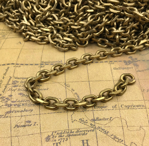 Anchor Chain Link 9mm Brass - Metal Field