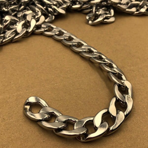 Figaro Chain Stainless Steel 15mm - Metal Field