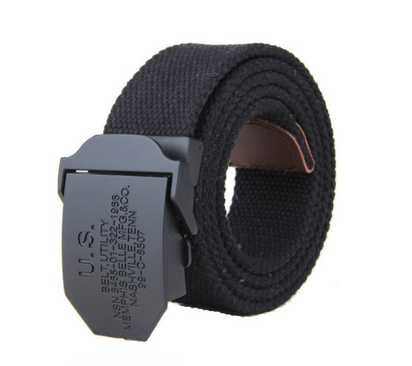 Automatic Belt Buckle Zinc alloy Black Matt Cool for Boy - Metal Field