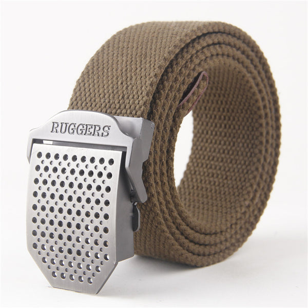Automatic buckle waist belt Automatic Buckle Belt - Ruggers - Metal Field