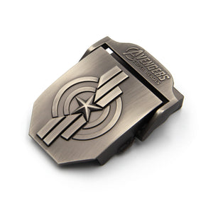Automatic Buckle Belt - Super Heroes Metal Buckle - Metal Field