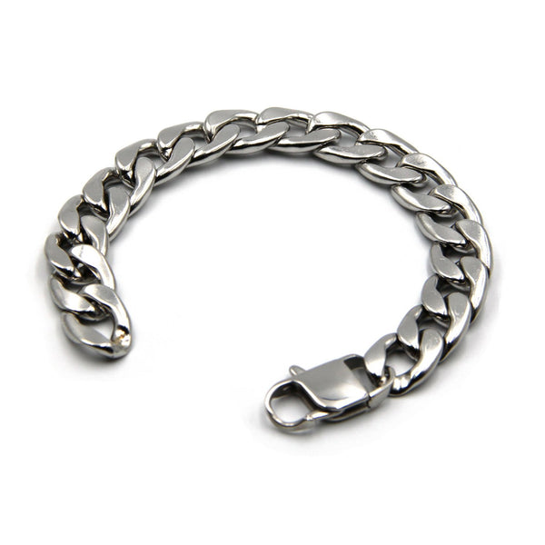 Custom Bracelet Popular Cool Chain Curb Style for Men - Metal Field
