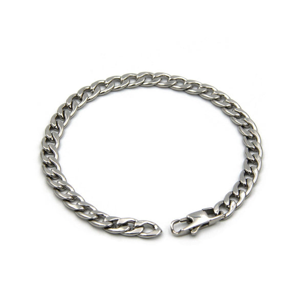 Mens Chain Bracelets Stainless Steel Cool Best Popular Accessories - Metal Field