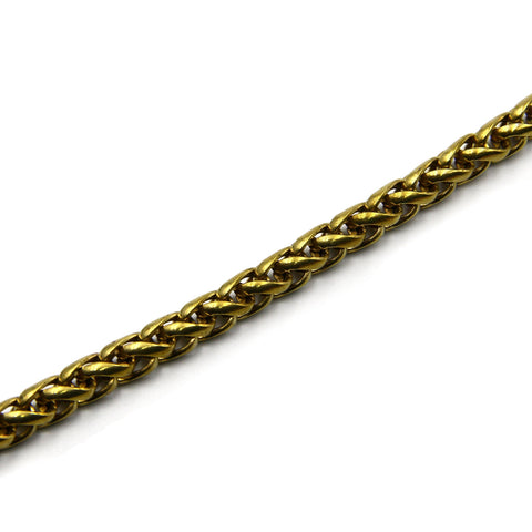 Palma Brass Chain 8mm - Metal Field