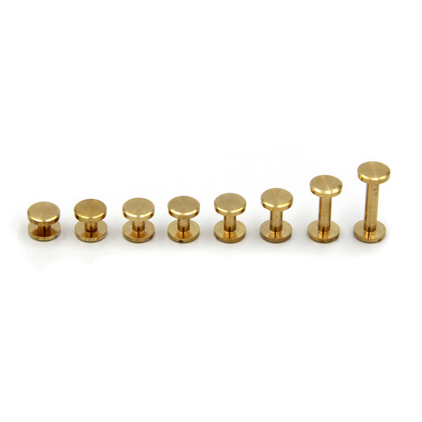 Screw Chicago Rivets 10x15 mm - Metal Field Shop
