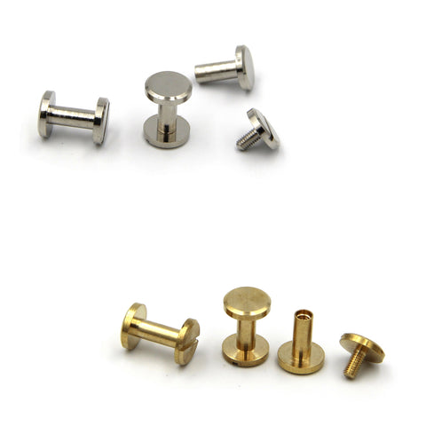 Screw Chicago Rivets 10x10 mm - Metal Field Shop
