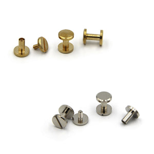 Screw Chicago Rivets 10x8 mm - Metal Field