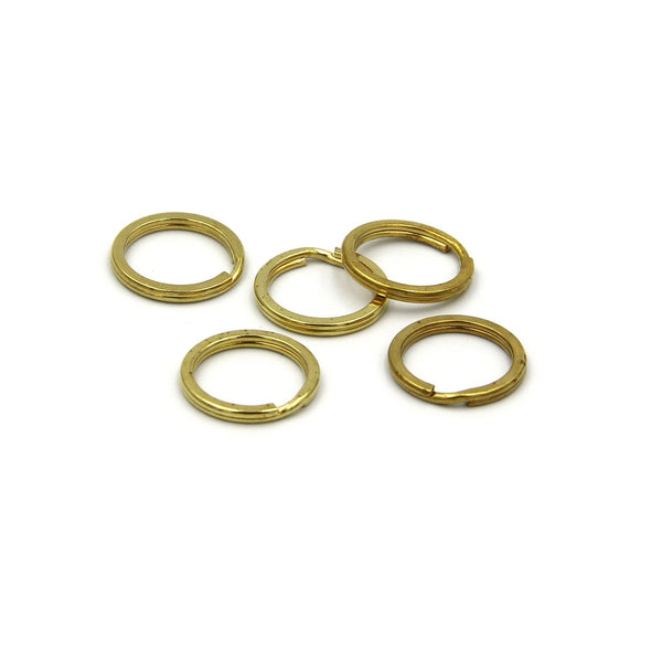 20mm split rings, Metal split rings, Gold split rings - Metal Field