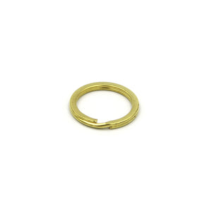 Brass split ring, Large split rings, Gold split rings - Metal Field