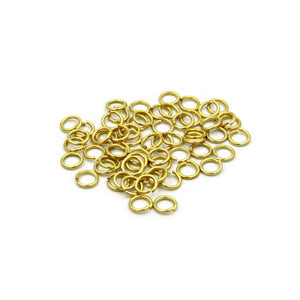 Solid Brass Stainless Ring 12mm - Metal Field