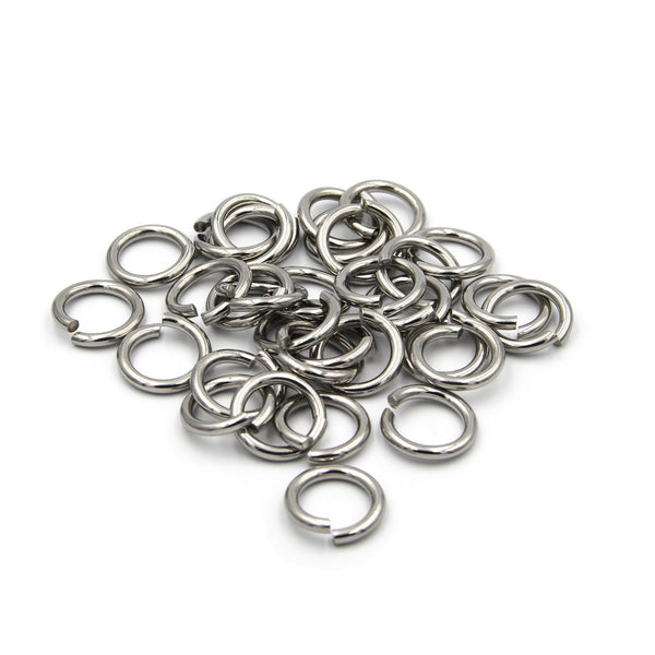 Solid Brass Split Keychain Ring 20 mm - Metal Field