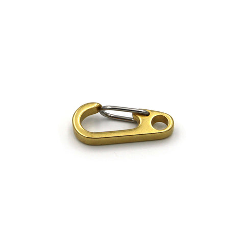Clasp Lobster Solid Brass 33mm - Metal Field Shop