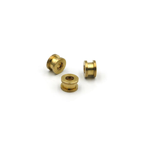 Brass Screw Grommet Eyelet Ring 10 mm - Metal Field