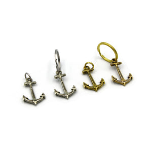 Anchor Keychain Pendant - Metal Field