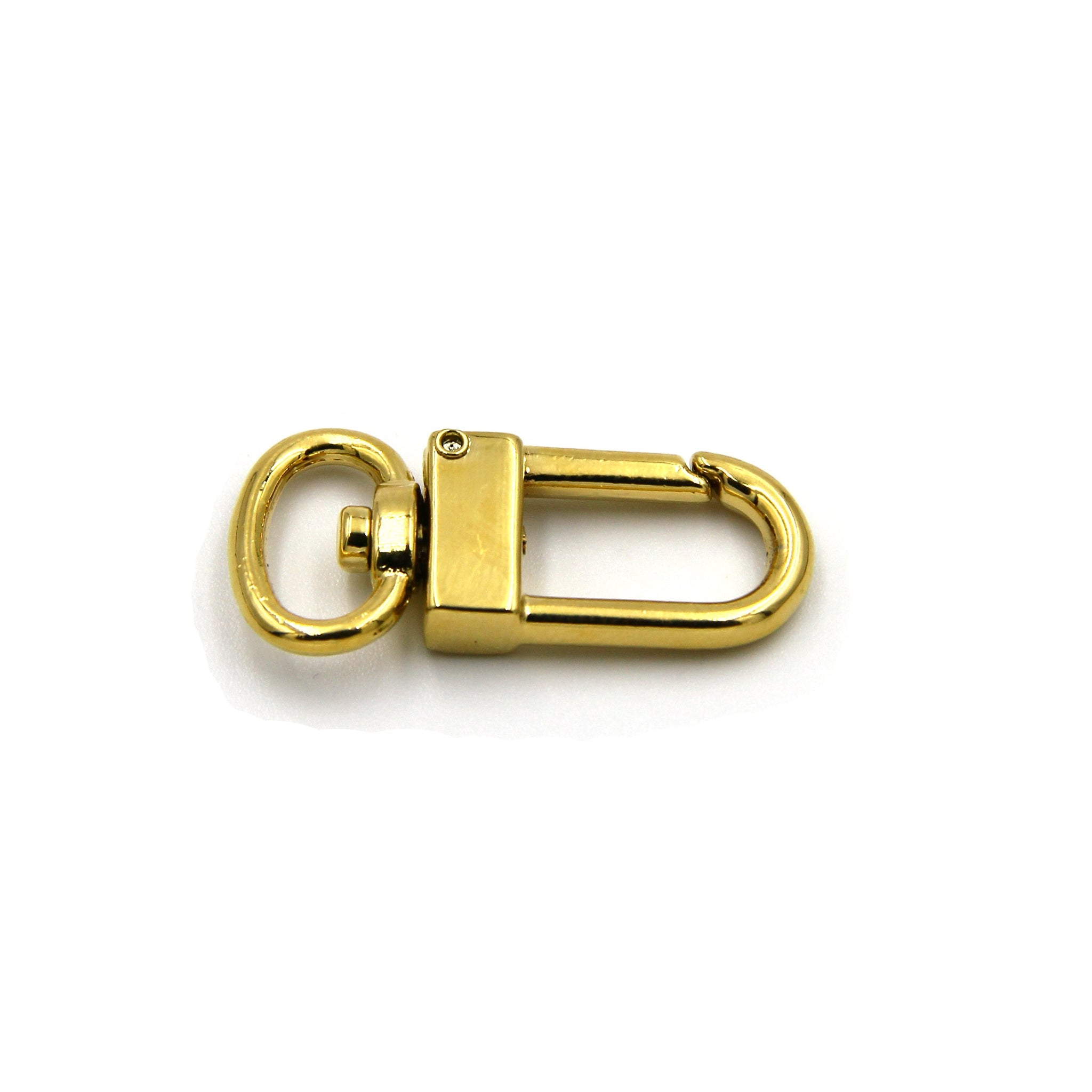 Gold Bolt Snap Clasp Hook Swivel - Metal Field
