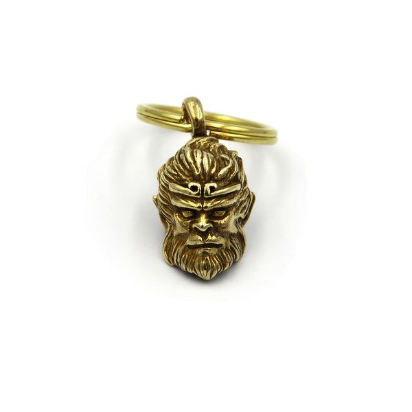 Monkey King Keychain Decoration Pendant DIY - Metal Field