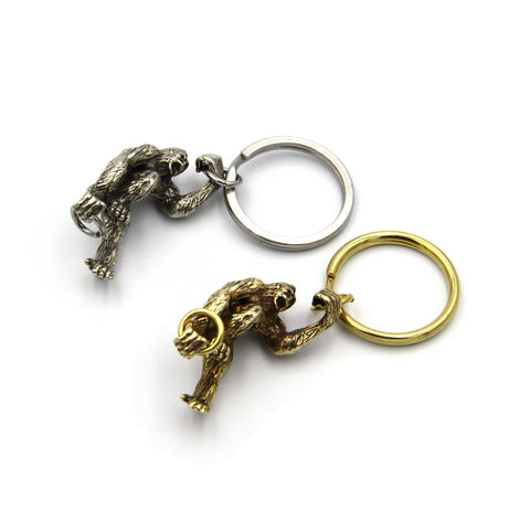 King Kong Key Chain Bags Wallet Decoration Present - Metal Field