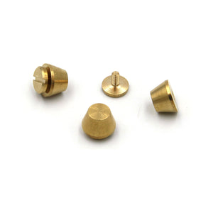 Bucket Studs Screw Back 12 mm - Metal Field