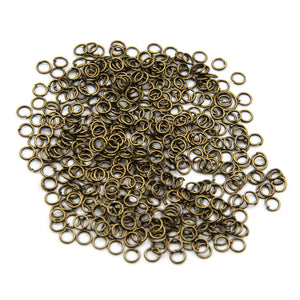 Opened Jump Ring For DIY Jewelry 5mm - Metal Field