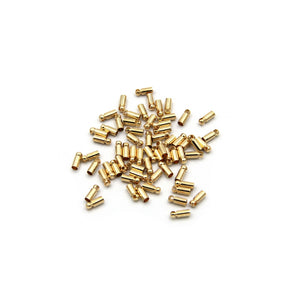 Gold Bridge Connector For Bead Chain 2.4mm - Metal Field