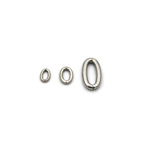 Oval Ring Stainless - Metal Field